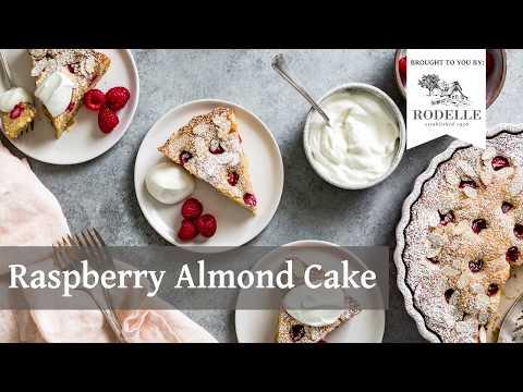 Gluten Free Raspberry Almond Cake