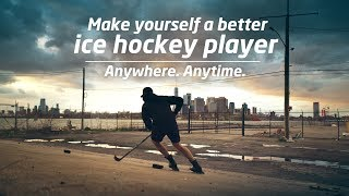 Make yourself a better ice hockey player with the Marsblade Roller Frame. Anywhere, anytime.