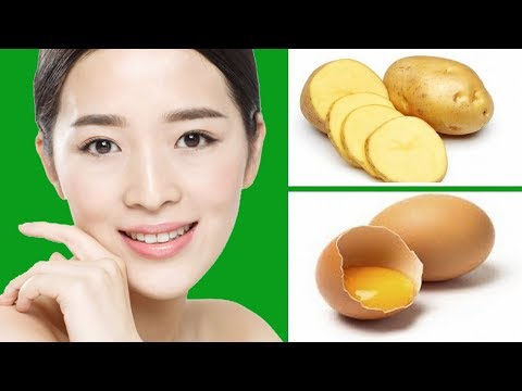 POTATO & EGG, REMOVE WRINKLES, LIFT SKIN, LOOK YEARS YOUNGER WITH FIRM SUPPLE SKIN