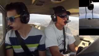 Flight with Matthew in LA Basin