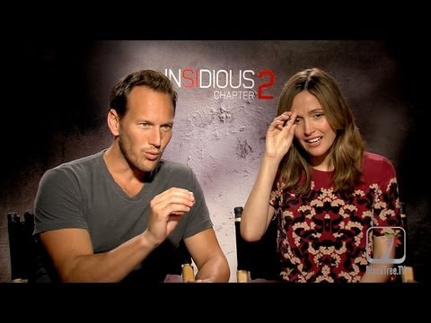 Insidious 2 Rose Byrne And Patrick Wilson Discuss The Genius Of James Wan