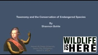 Taxonomy and the Conservation of Endangered Species (1080p)
