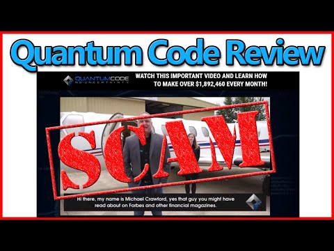 Quantum Code Review: Michael Crawford Scam