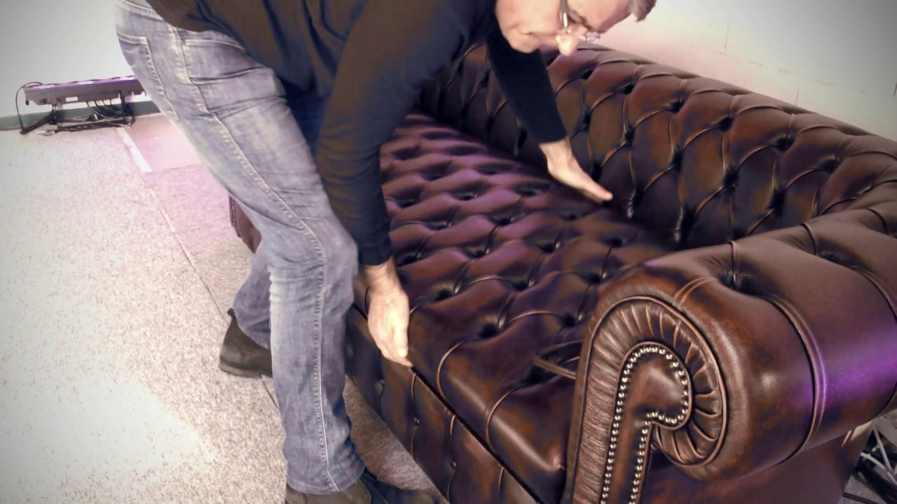 Canape Convertible Chesterfield Youtube