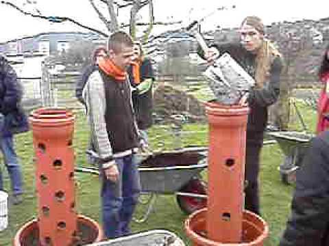 Workshop Vertikaler Garten Urbane Permakultur YouTube