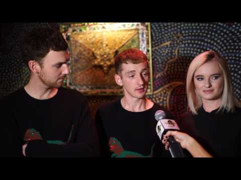 Front Row Phyllis Backstage Interview with Clean Bandit 5/3/17