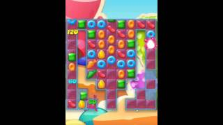 Candy Crush Jelly Saga Level 207 No Boosters