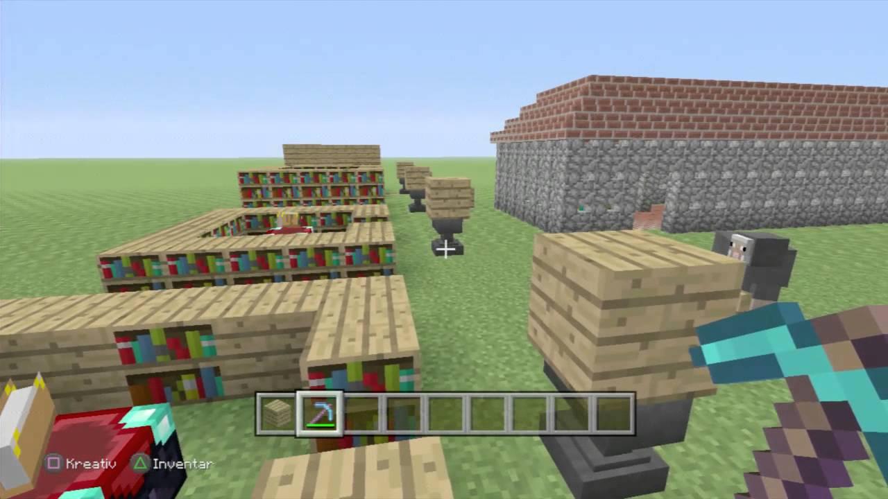 Bücherregale Minecraft minecraft bücherregale