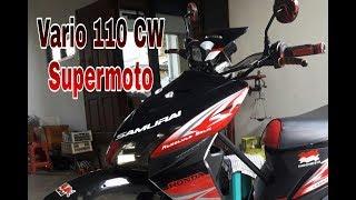 Proses Modifikasi Vario 110 CW Supermoto