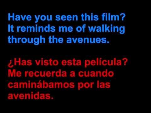 Rogue Wave - Eyes - Letra en español y en inglés en la pantalla