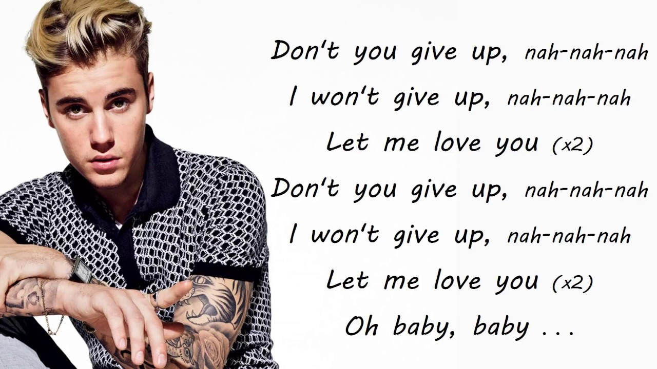 Justin Bieber Songs Lyrics Mp4 Download Daedalusdrones Com