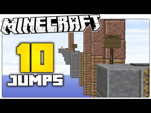 This Map Made Me Hate Minecraft   10 Jumps Minecraft Parkour Map
