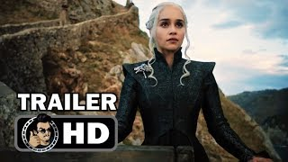 GAME OF THRONES Official SDCC Season 7 Trailer (HD) Emilia Clarke HBO Series