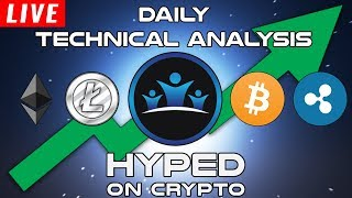 Daily LIVE Cryptocurrency Technical Analysis - Bitcoin / Ethereum / Ripple & More!