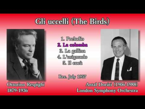 The Birds, Doráti & LSO 1957 レスピーギ 組曲鳥ドラティ