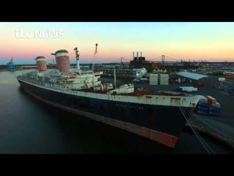 Titanic-sized ocean liner set for scrapheap