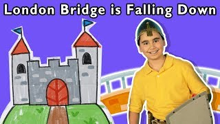 London Bridge is Falling Down + More | Mother Goose Club Dress Up Theater