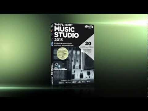 MAGIX Samplitude Music Studio 2013 (ES) - Estudio de grabacion