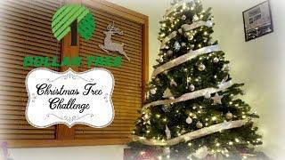 Dollar Tree Christmas Decor Challenge Collab - My $20 Christmas Tree