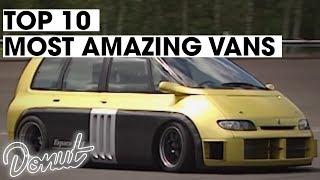 top 10 most amazing vans donut media