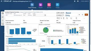Entering Planning Data in Projects for Oracle Enterprise Planning and Budgeting Cloud video thumbnail