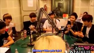 [ENG SUB] EXO-K D.O thinks Kai is handsome