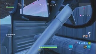 I figured out how to get in a car in Fortnite