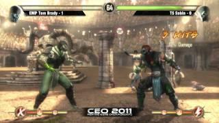 EMP Tom Brady vs TS Sabin CEO 2011 Mortal Kombat 9 Singles Winners Finals