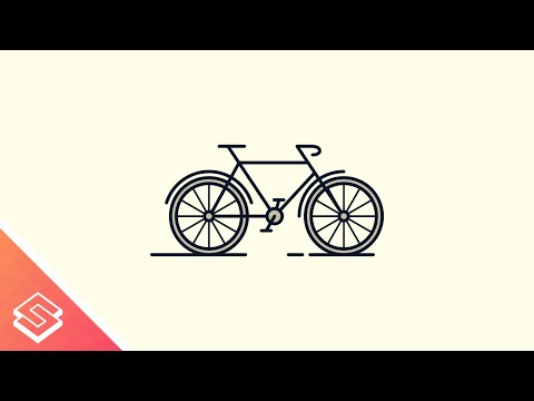 Inkscape for Beginners: Bicycle Icon
