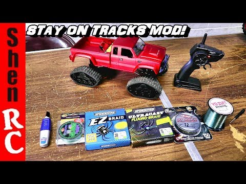 FAYEE FY002B FY001B TRACKED TRUCKS UPGRADE MOD HELP THEM TRACKS STAY ON BETTER