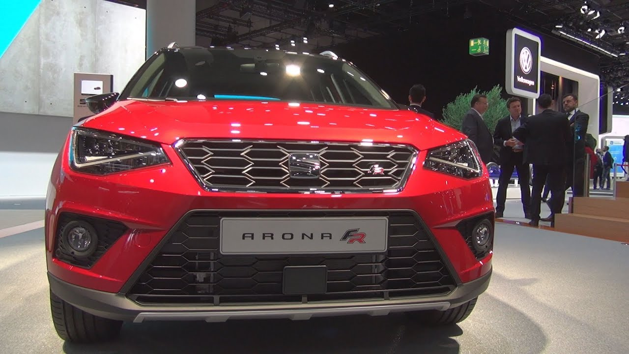 seat arona fr 1 0 ecotsi 7 dsg 2018 exterior and interior youtube. Black Bedroom Furniture Sets. Home Design Ideas