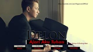 Gambar cover Delon - Ajari Aku Tuhan (Official Audio Video)