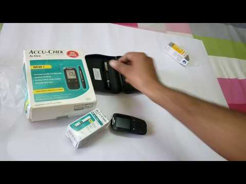 How To Use Accu-chek Active Blood Glucose Meter