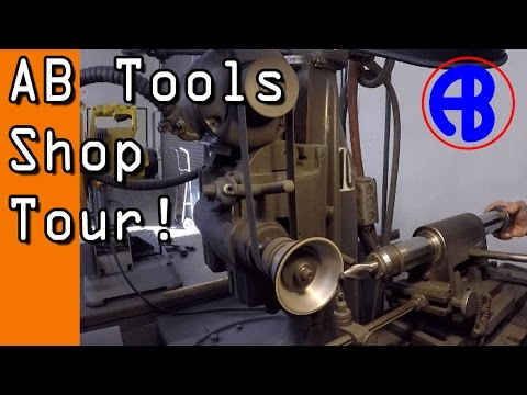 AB Tools Factory Tour!   Grinding Custom Carbide End Mills!