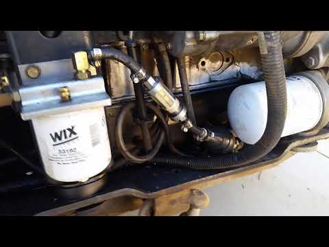 Bobcat 853 Fuel Starvation Problem Part 4 FULLY FIXED YouTube