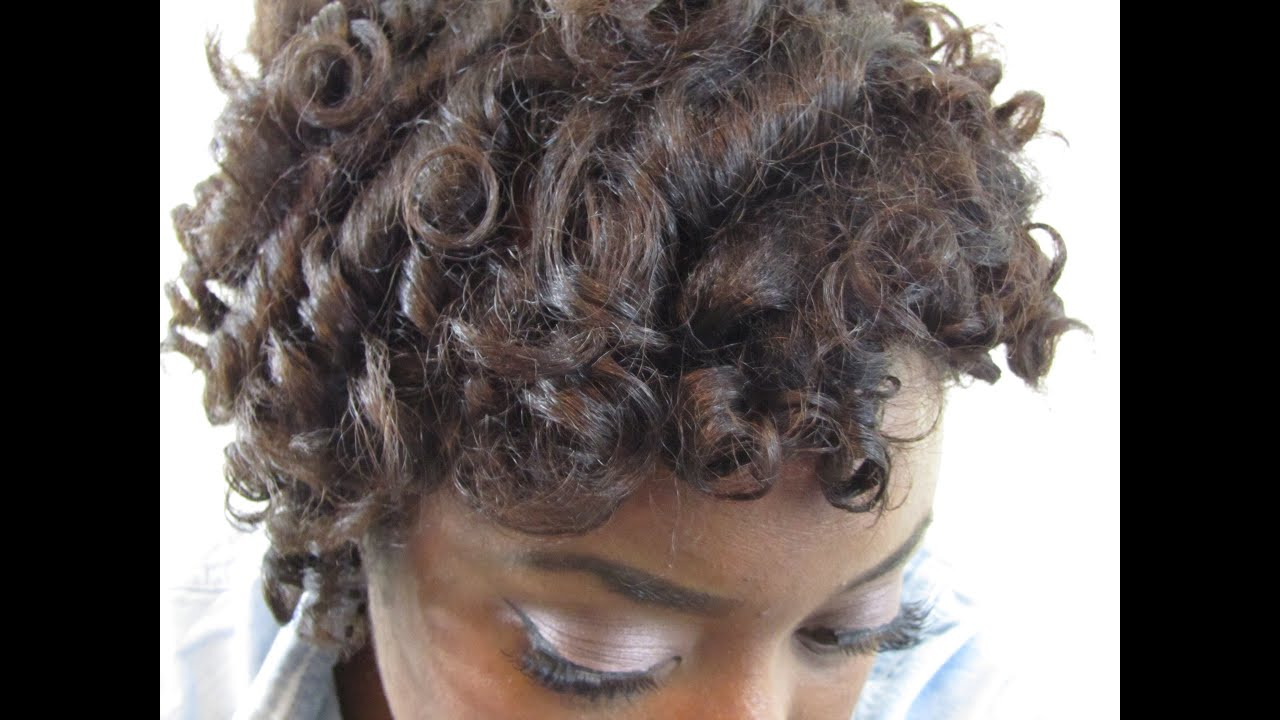 protective style for relaxed hair curly updo protective style tutorial relaxed hair 9946