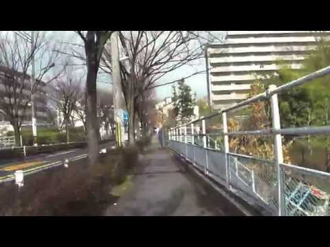 Biking from Suita Int. Student Dorm to Osaka Uni. Suita Campus