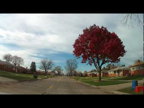 Driving from Sterling Heights, Michigan to Warren, Michigan