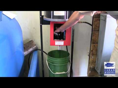 Best Management Practice: Crushing Oil Filters Makes Economic and Environmental Sense