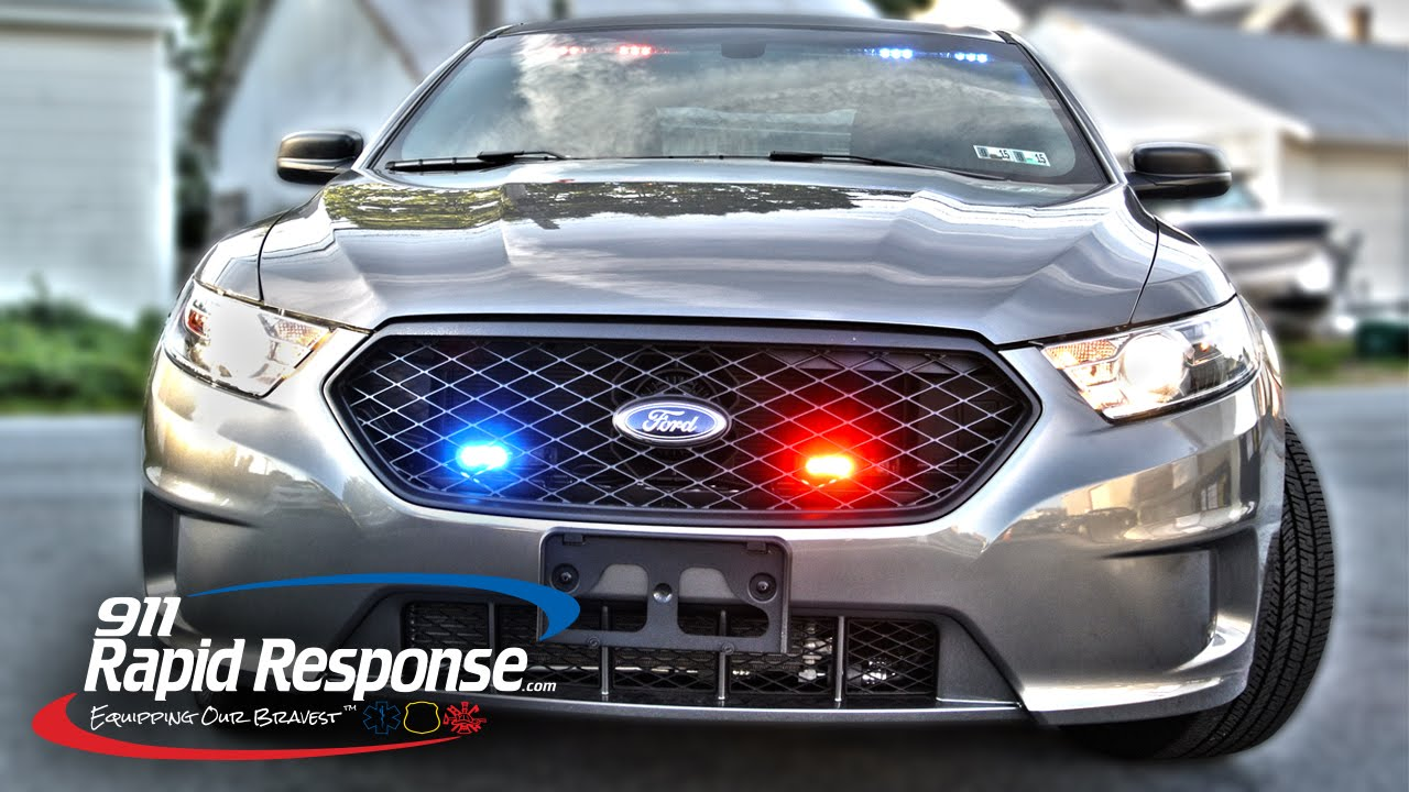 ... Blackout Package (Ford Police Interceptor) | 911RR - YouTube