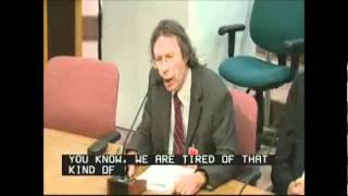 Michael Mariotte of NIRS telling NRC to close GE Mark I reactors