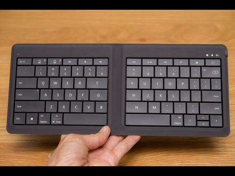 Trên tay Microsoft Universal Foldable Keyboard