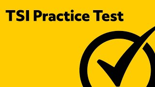 Great Free TSI Practice Test