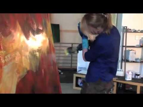 laurel holloman: in studio