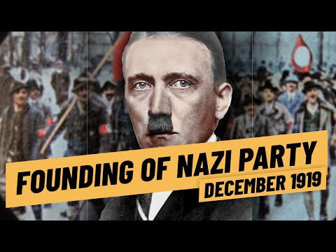 Adolf Hitler's First Steps In Politics - The Foundation Of The Nazi Party I THE GREAT WAR 1919