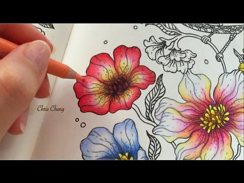 Spring Flower 4/5 : Daydreams Coloring Book | Coloring With ...