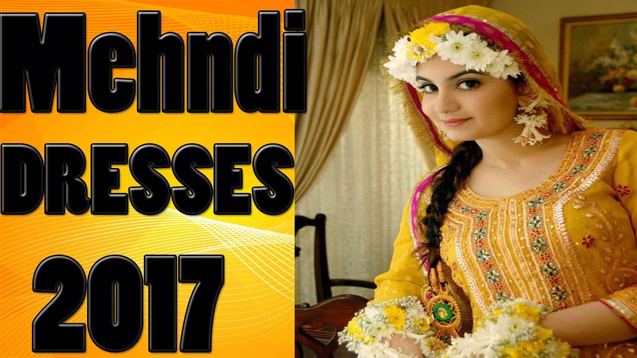Latest fashion mayon mehndi dress