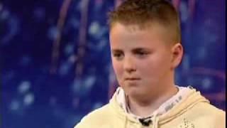 BGT- 13yr old Choir boy Andrew Johnston