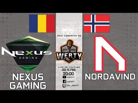 (LIVE 20:00) NEXUS GAMING (RO) vs. NORDAVIND (NOR) - CEVO || DE LA 21:00 SINNERS GAMING