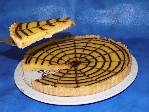 تارت الليمون سهلة و سريعة التحضير tarte au citron